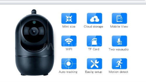 Smart AI CCTV Security Camera