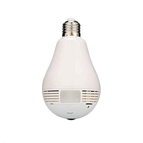 Smart Panoramic Bulb Security Camera