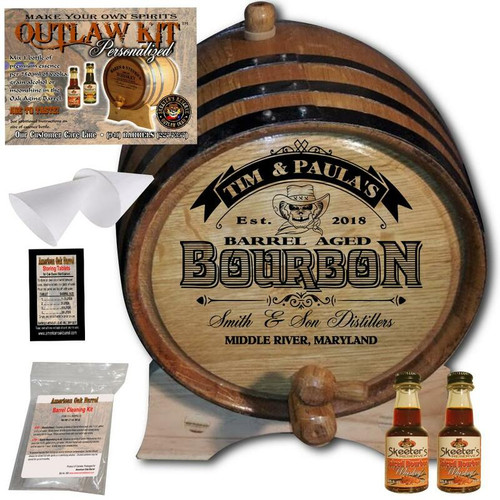 Personalized Outlaw Kit™ (102) - Create Your Own Spirits