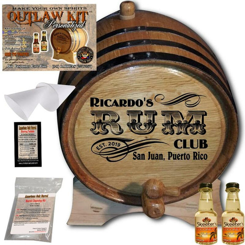 Personalized Outlaw Kit™ (200) - Create Your Own Spirits Rum