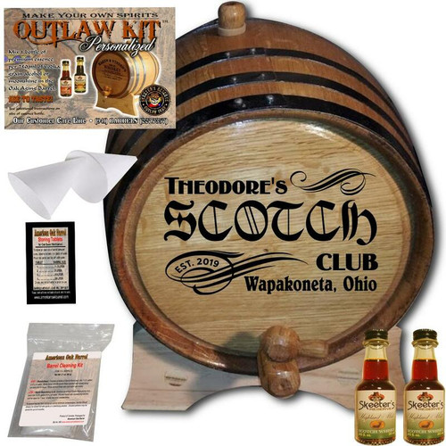 Personalized Outlaw Kit™ (201) - Create Your Own Spirits Scotch