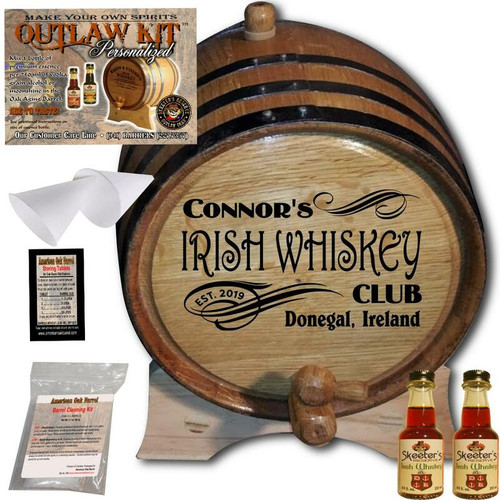 Personalized Outlaw Kit™ (205) - Create Your Own Spirits Irish Whiskey