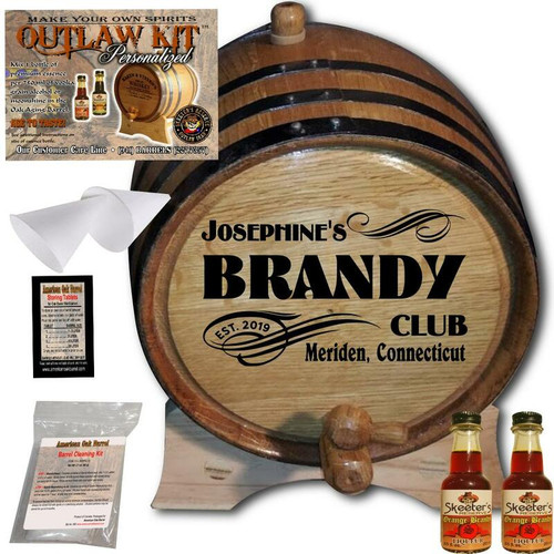 Personalized Outlaw Kit™ (070) - Create Your Own Spirits Brandy
