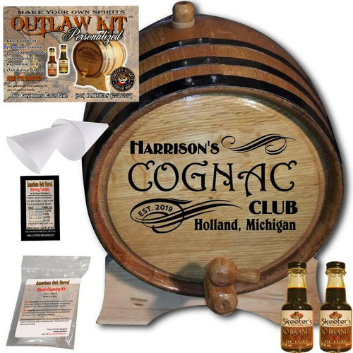 Personalized Outlaw Kit™ (207) - Create Your Own Spirits Cognac