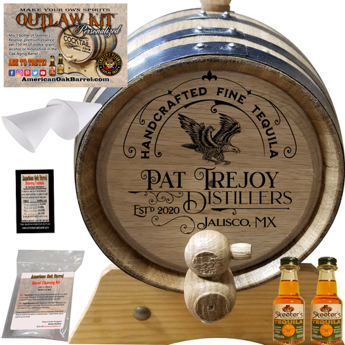 Personalized Outlaw Kit™ (304) Handcrafted Fine Tequila - Create Your Own Spirits