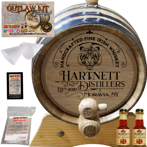 Personalized Outlaw Kit™ (305) Handcrafted Fine Irish Whiskey - Create Your Own Spirits