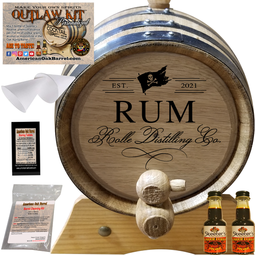 Personalized Outlaw Kit™ (400) Your Rum Distilling Co. - Create Your Own Spirits