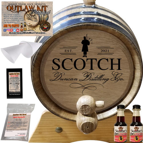 Personalized Outlaw Kit™ (401) Your Scotch Distilling Co. - Create Your Own Spirits