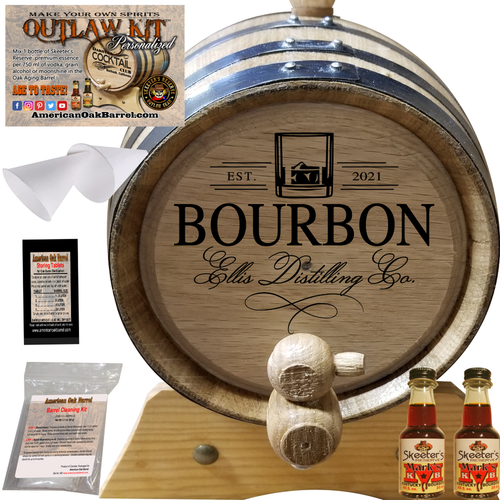 Personalized Outlaw Kit™ (402) Your Bourbon Distilling Co. - Create Your Own Spirits