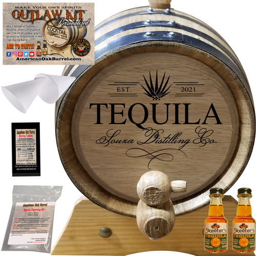 Personalized Outlaw Kit™ (404) Your Tequila Distilling Co. - Create Your Own Spirits