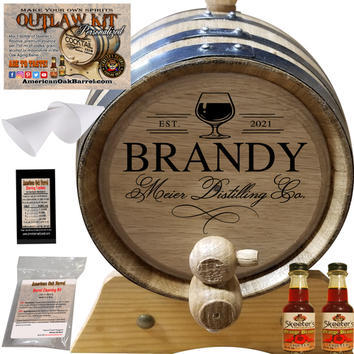 Personalized Outlaw Kit™ (406) Your Brandy Distilling Co. - Create Your Own Spirits