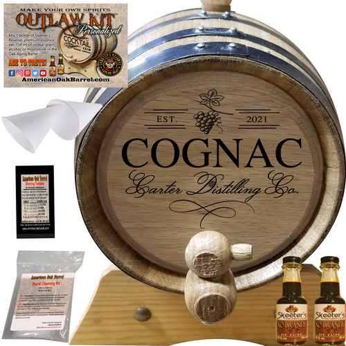 Personalized Outlaw Kit™ (407) Your Cognac Distilling Co. - Create Your Own Spirits