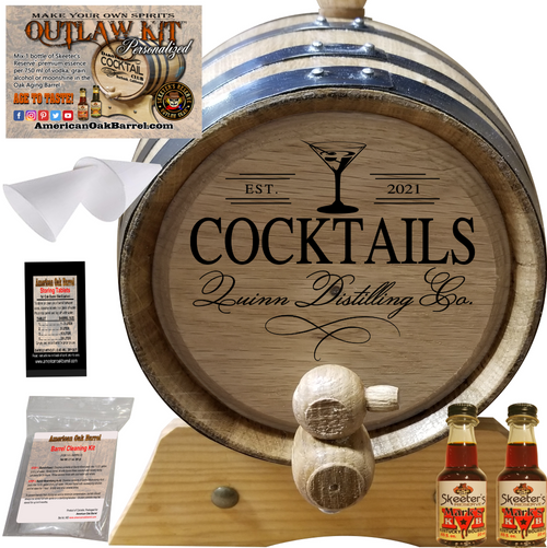 Personalized Outlaw Kit™ (408) Your Cocktails Distilling Co. - Create Your Own Spirits
