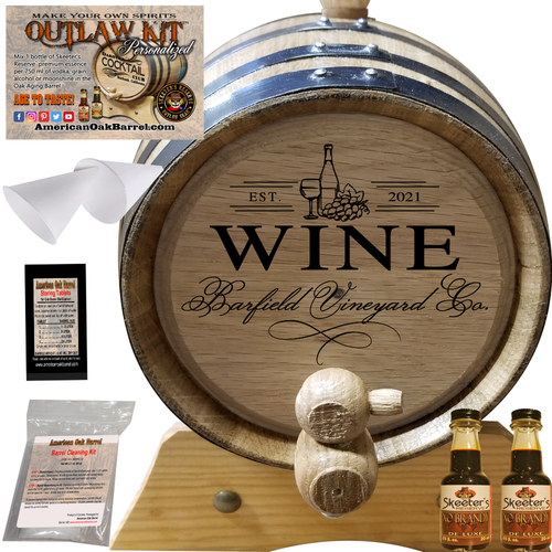 Personalized Outlaw Kit™ (409) Your Wine Vineyards Co. - Create Your Own Spirits