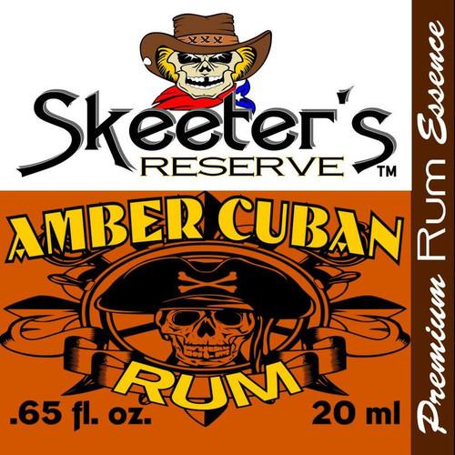 Skeeter's Reserve™ Amber Cuban Rum Premium Essence