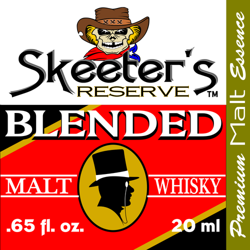 Skeeter's Reserve™ Blended Malt Whiskey Premium Essence -Flavor Concentrate-Mixers & Cooking Recipes