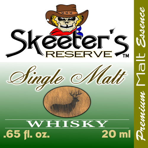 Skeeter's Reserve™ Single Malt Whisky Essence - Flavor Concentrate-Mixers, Cooking and Baking Recipes