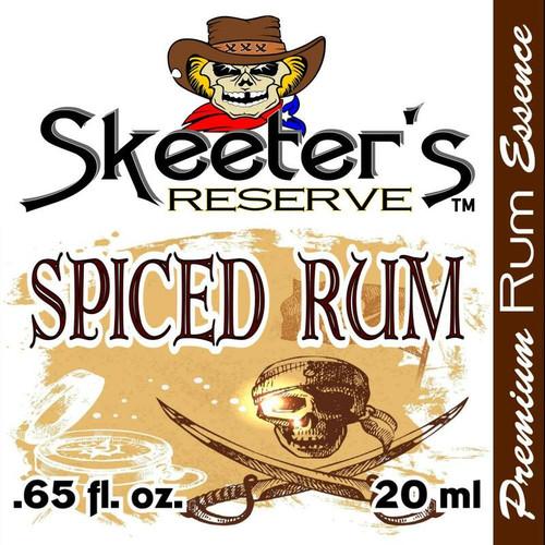 Skeeter's Reserve™ Spiced Rum Premium Essence