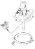 Graco Undercoater Pump   120 Pound Rollaround   15:1 Ratio Fire-Ball