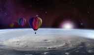 Polyethylene Balloons Keep an Eye on Hurricanes