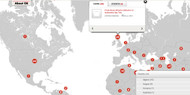 Interactive Real Time Map Of The Oil World