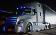 Freightliner Reveals Concept For Self-Driving Semi-Truck
