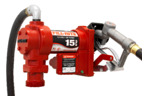Fill-Rite 12VDC/15GPM Fuel Pump
