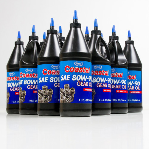 Coastal Premium 80w-90 Gear Oil | 12/1 Quart Case