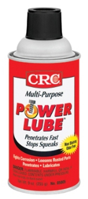 CRC Power Lube Multi-Purpose Lubricant | 12/9 Ounce Case