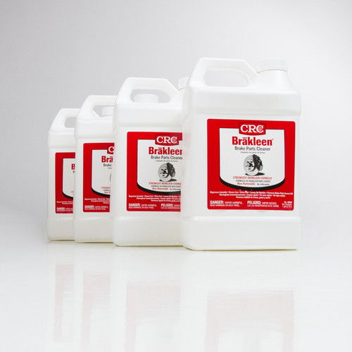 CRC Brakleen Brake Parts Cleaner | 4/1 Gallon Case