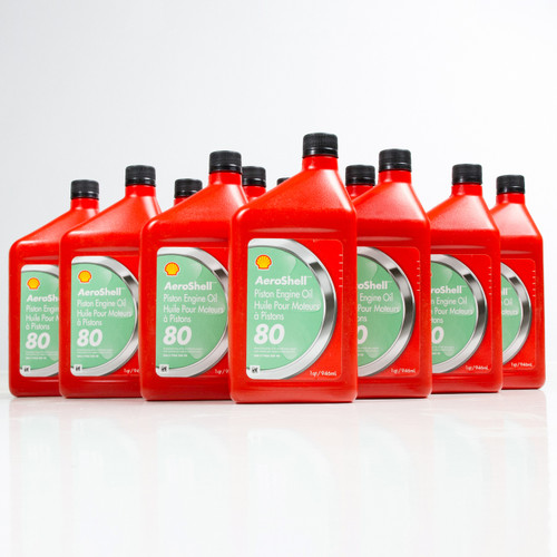 AeroShell Oil 80 | 12/1 Quart Case