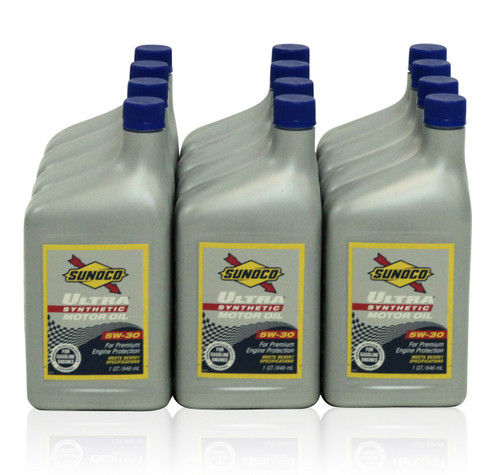 Sunoco Ultra Full Synthetic 5w-30 | 12/1 Quart Case