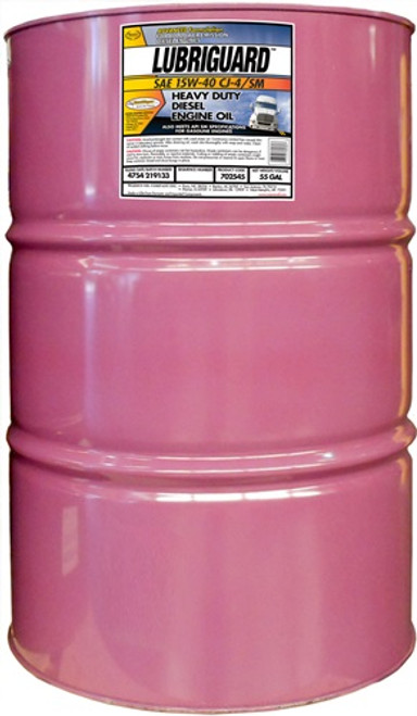 Lubriguard 15w40 CK-4 Diesel Engine Oil | 55 Gallon Drum