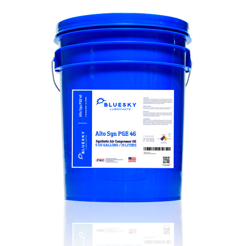 BlueSky Alto Syn PGE 46 | 5 Gallon Pail