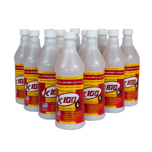 K100-G+ Gasoline Treatment | 12/32 Ounce Case