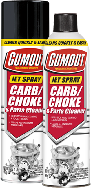 Gumout Jetspray Carb/Choke Cleaner | 6/14 Ounce Cans
