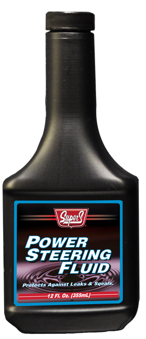 Super S Power Steering Fluid | 12/12 Ounce Case