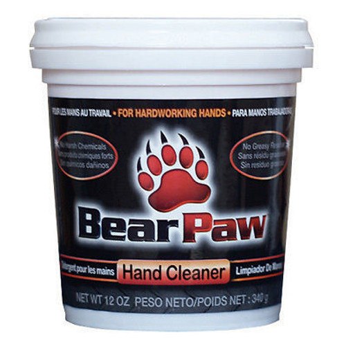 Bear Paw Hand Cleaner | 6/12 Oz. Tubs