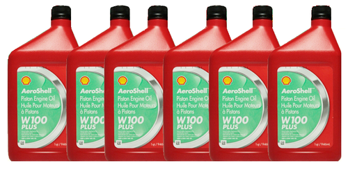 AeroShell Oil W100 Plus | 6/1 Quart Case