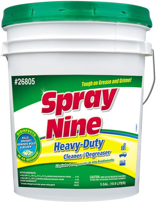 Spray Nine Heavy Duty Cleaner / Degreaser   | 5 Gallon Pail