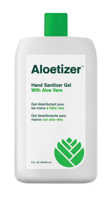 Aloetizer Hand Sanitizer Gel | 24/8 oz. Squirt Bottles