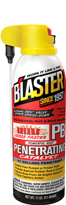 PB Blaster Penetrant with ProStraw Can  | 12/11 Ounce Case