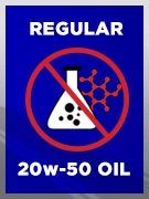 Conventional SAE 20w-50 Oil