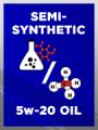 Semi Synthetic SAE 5w-20