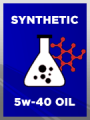 Full Synthetic SAE 5w-40