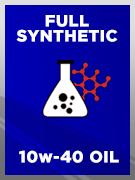 Full Synthetic SAE 10w-40