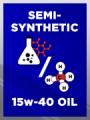 Semi Synthetic SAE 15w-40