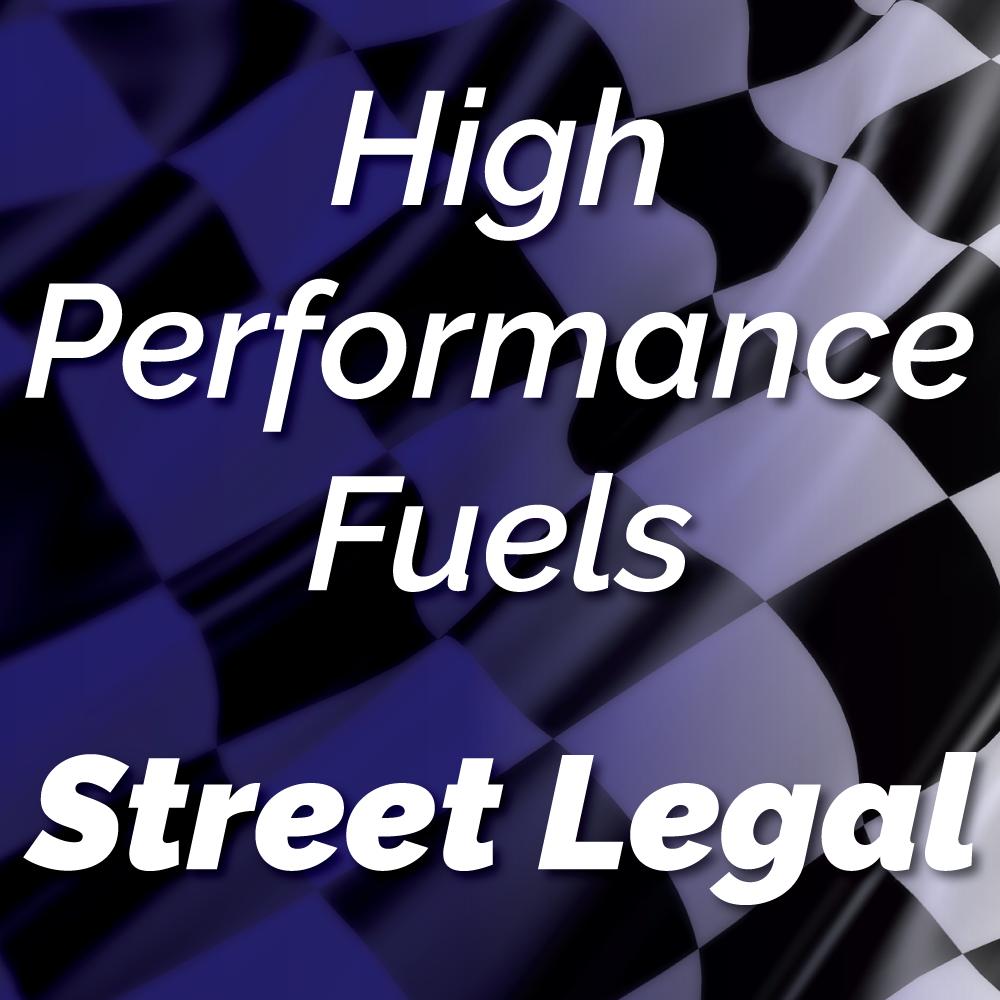 Street Legal Unleaded Racing Fuel