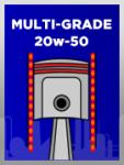 Multi-Grade 20w-50 for Engine Break-In