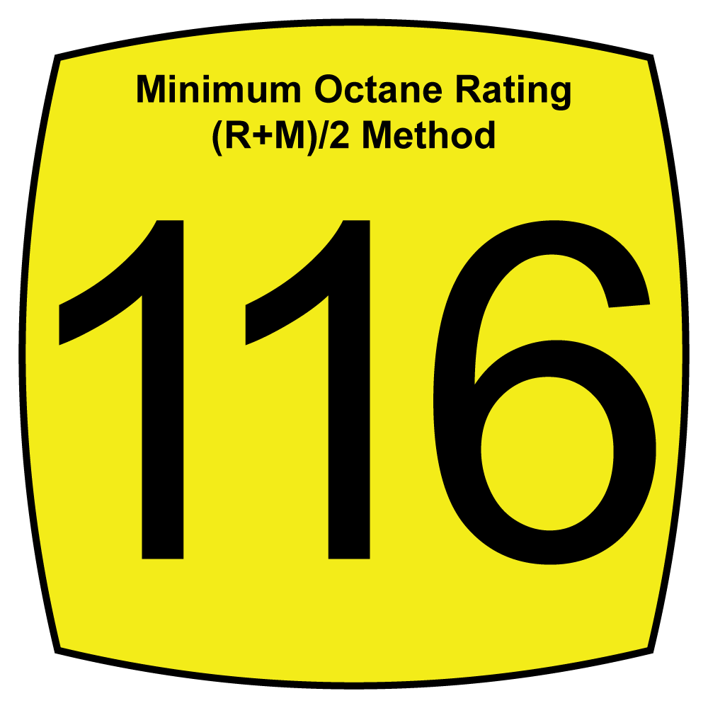 116 Octane Fuels